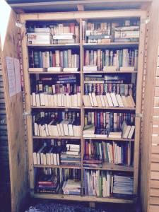... mein Tausch-Bücherkasten ...